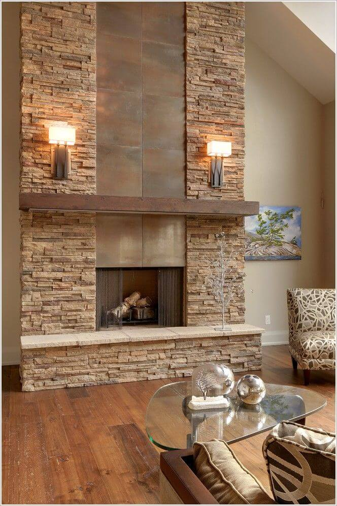 33 Best Interior Stone Wall Ideas And Designs For 2018