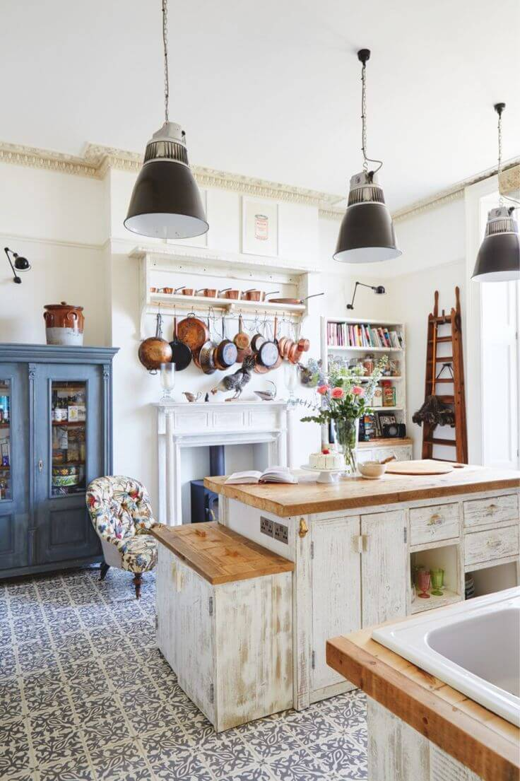 Antique Kitchen Design Ideas ~ Best vintage kitchen decor ideas and designs for