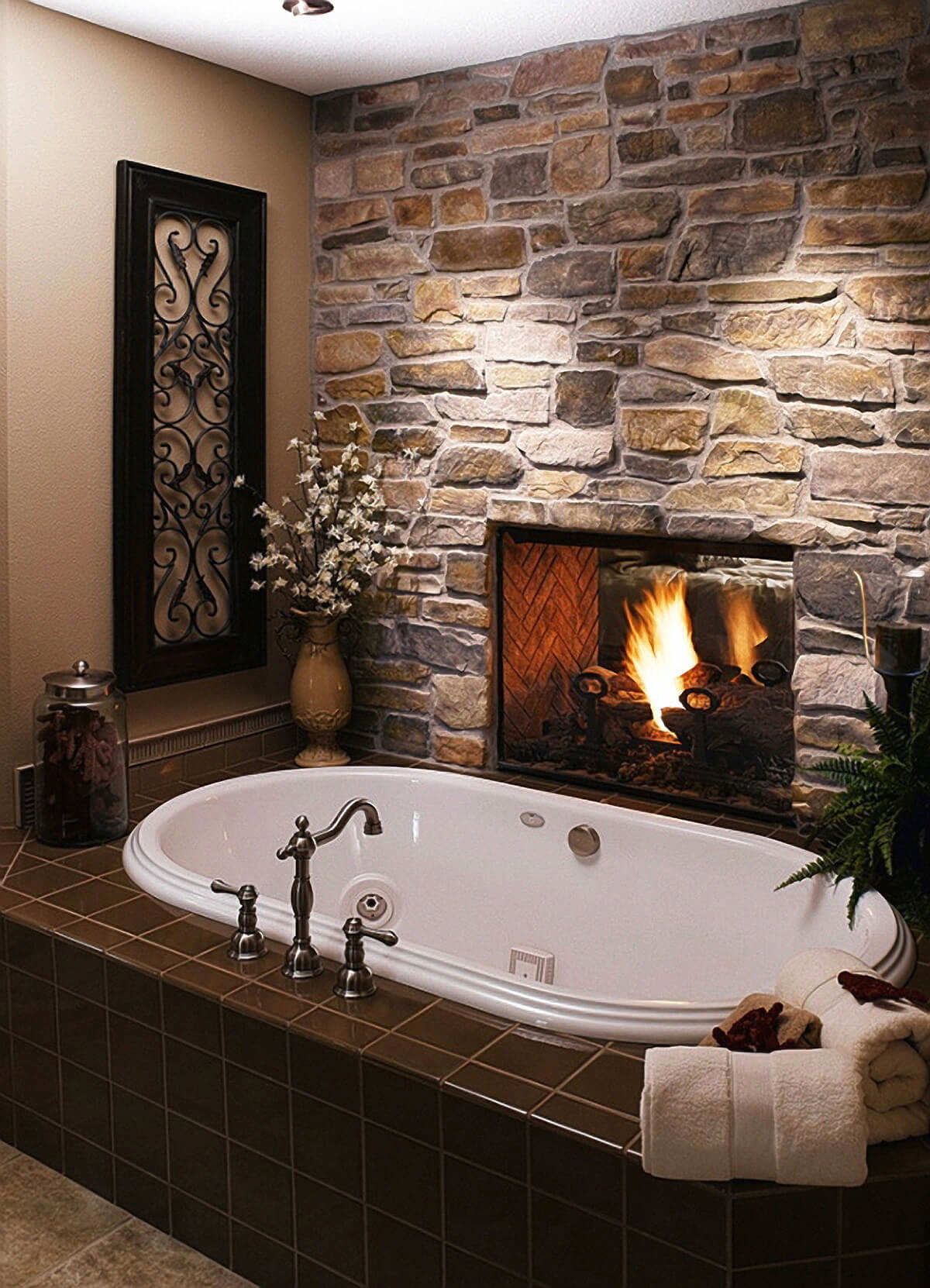 High Quality 23. A Bath By The Fire