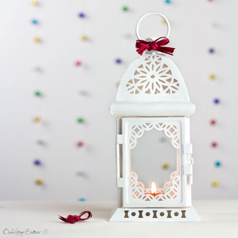Moroccan Mystique Arabian Nights Candle Lantern