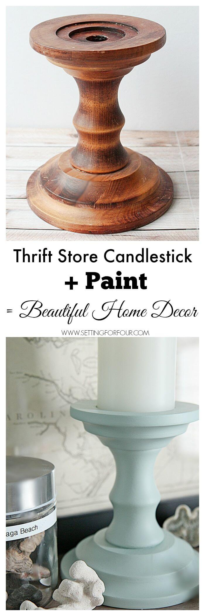 DIY Dollar Store Home Decor Ideas with Candles