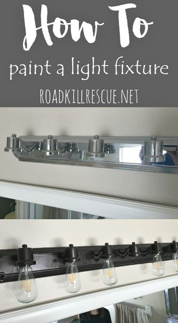 How to Repaint Metal Fixtures