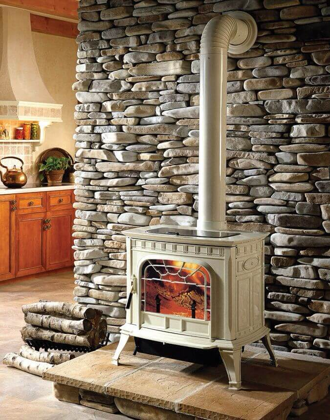 Pretty Cottage Style Slab Wall