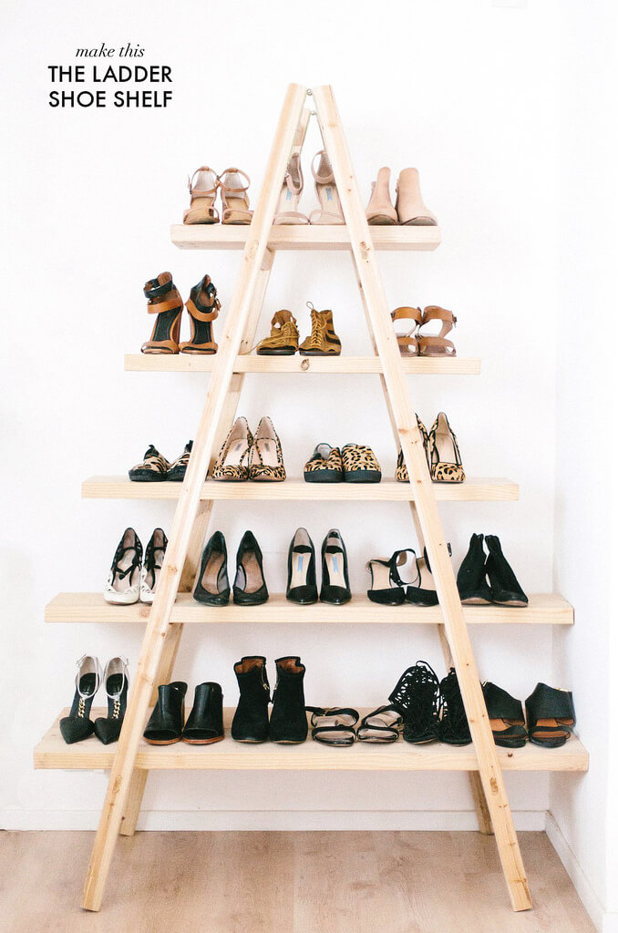 Easel Style Multi-Layer Shoe Cabinet