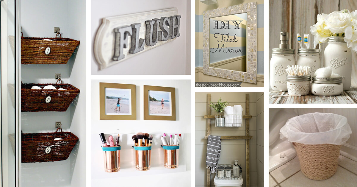26 best diy bathroom ideas and designs for 2019 - Diy bathroom decor ideas ...