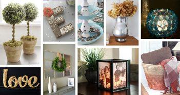 home design diy. 33 Impressive DIY Dollar Store Home Decor Ideas for Designers on a Budget Homebnc  Beautiful and Creative Design
