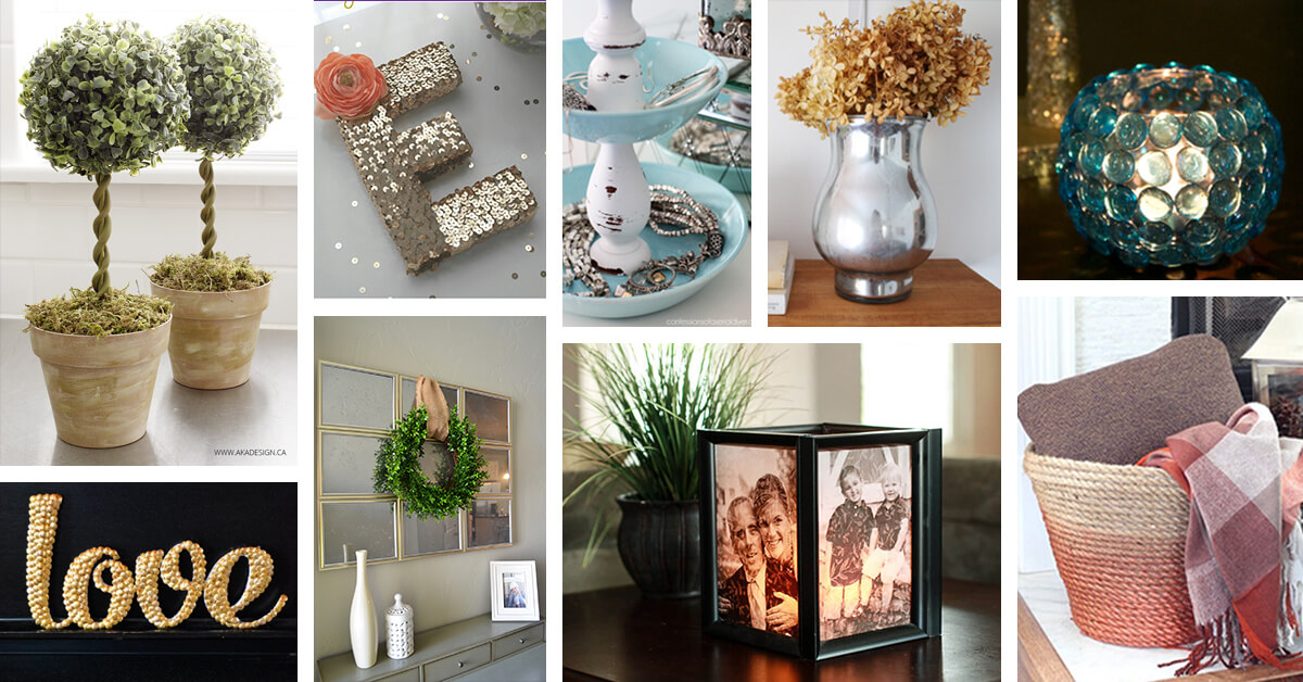 Home Design Ideas Diy: 33 Best DIY Dollar Store Home Decor Ideas And Designs For 2019