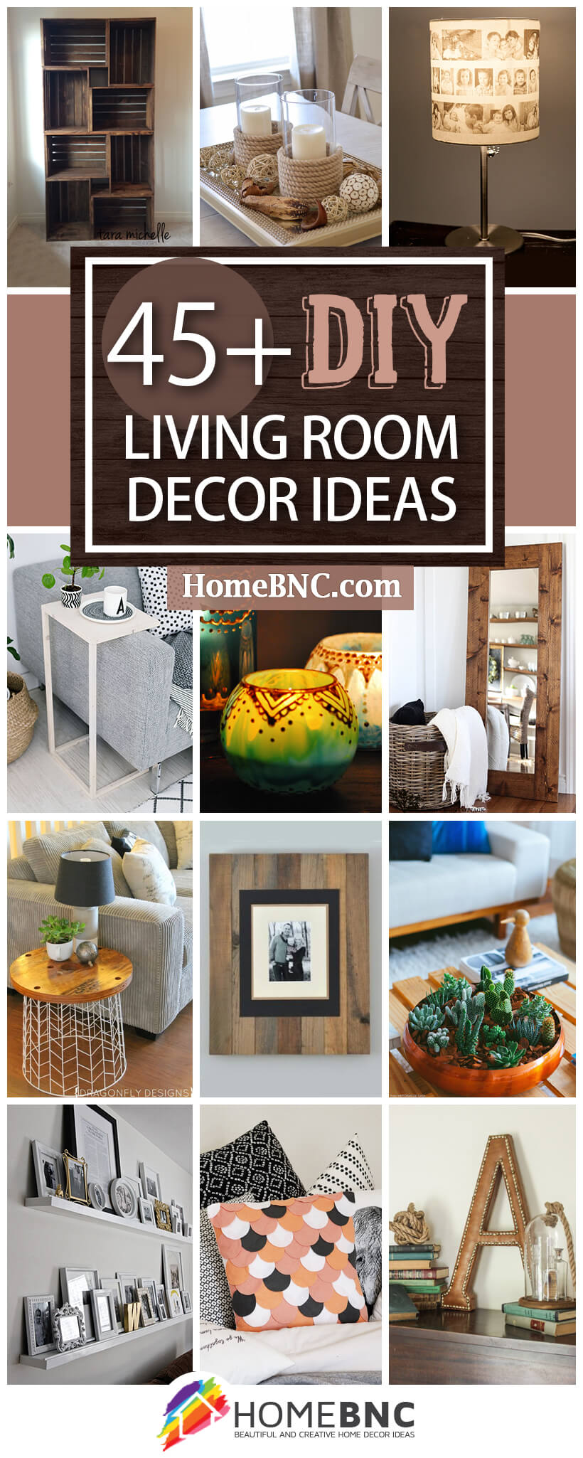 45+ Best DIY Living Room Decorating Ideas and Designs for 2019