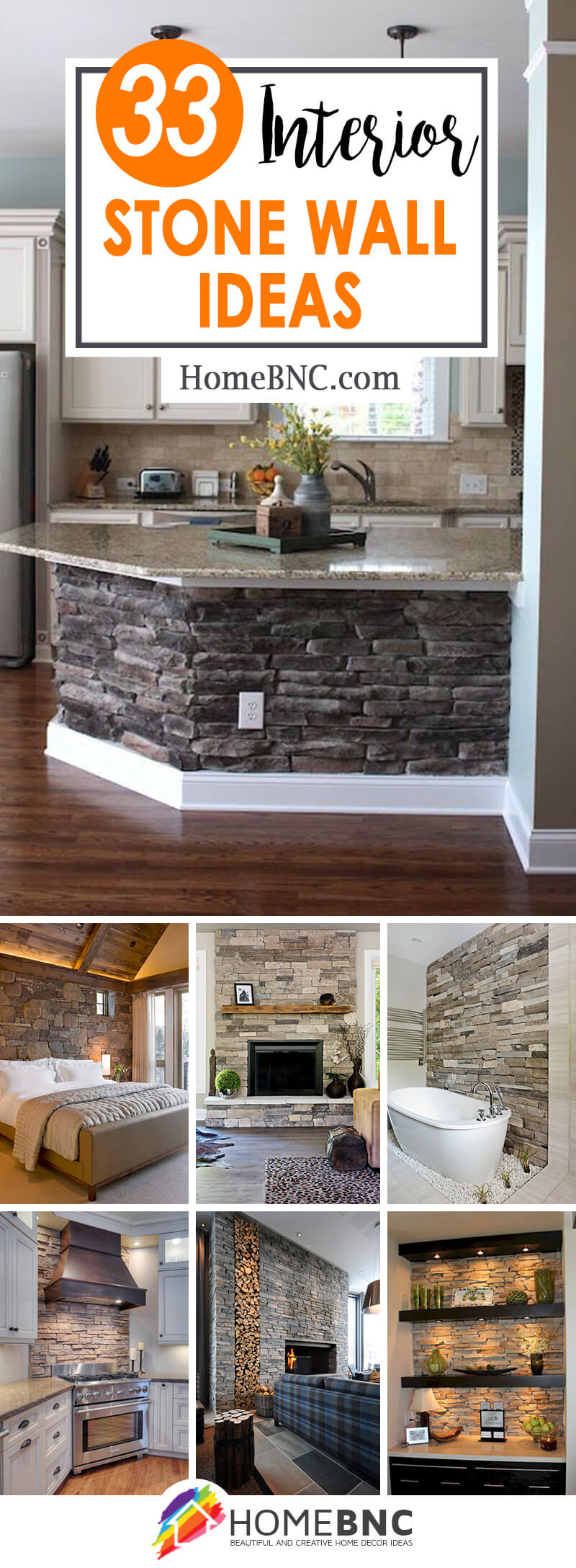 33 Best Interior Stone Wall Ideas And Designs For 2020