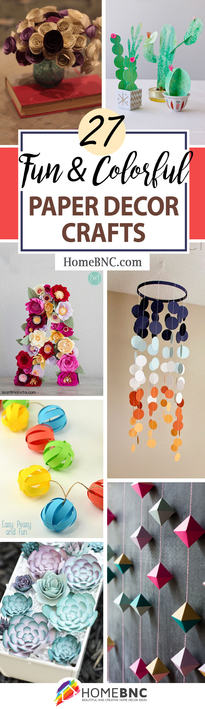 27 Best Paper Decor Crafts Ideas And Designs For 2021