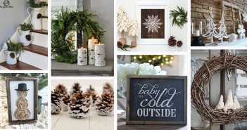 Rustic Winter Decorations
