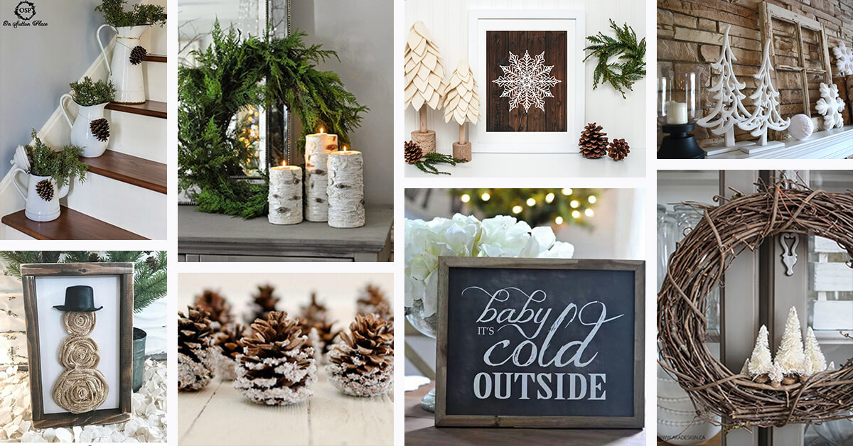 12 Best Rustic Winter Decor Ideas and Designs for 12