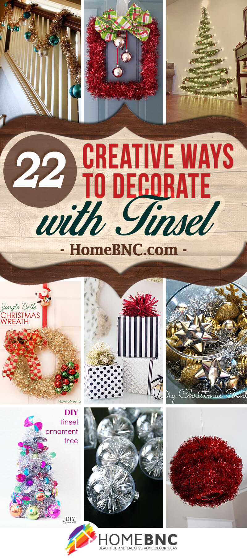 Tinsel Decorating Ideas