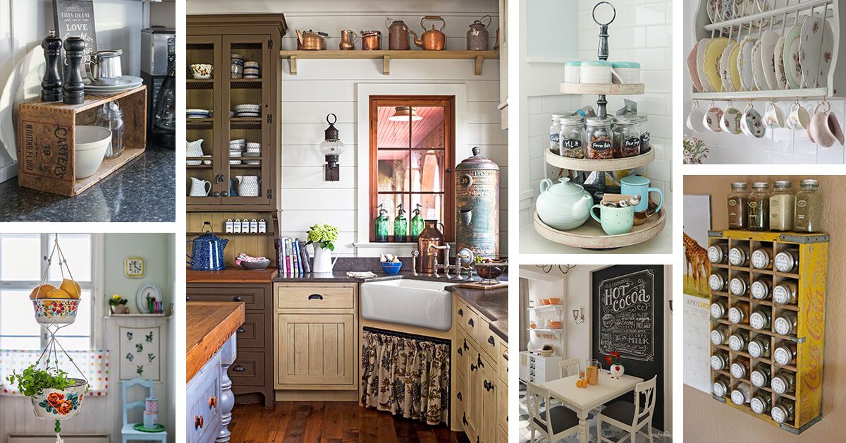 34 Best Vintage Kitchen Decor Ideas and Designs for 2019