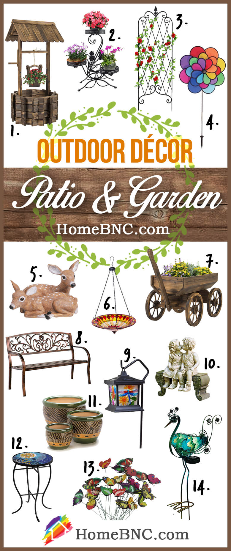 Patio and garden Outdoor Decoration Ideas