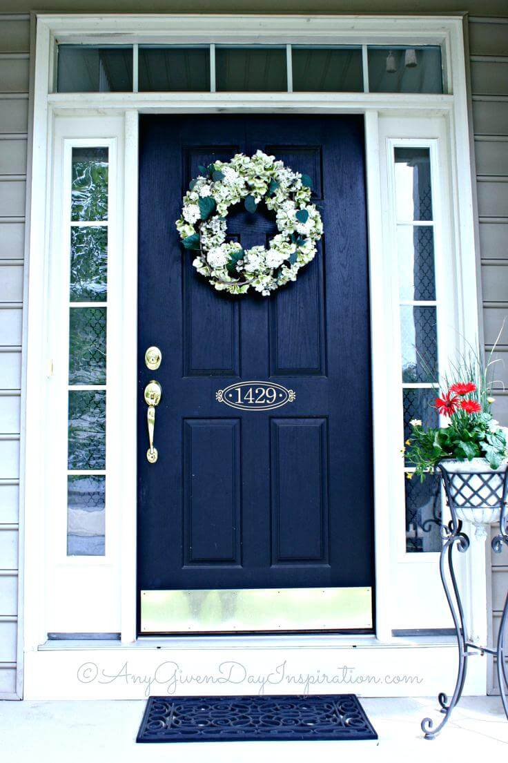 Fabulous 30 Best Front Door Color Ideas and Designs for 2018 AY28