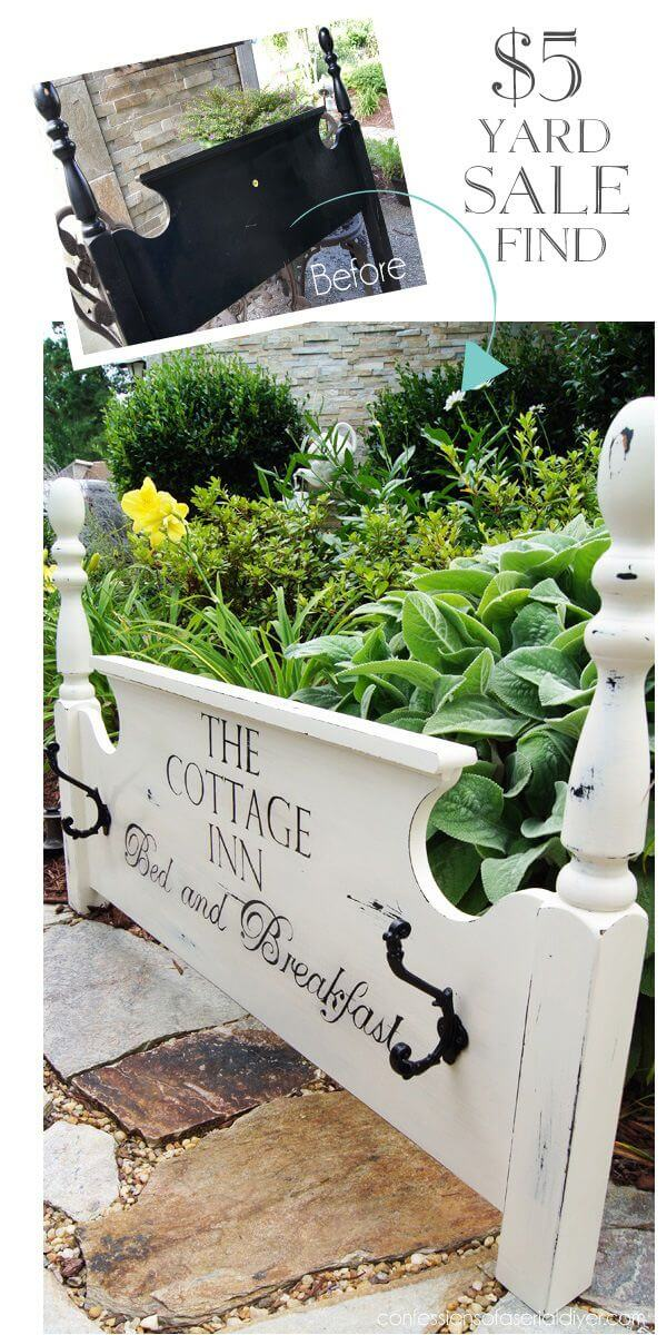 Beautiful Front Yard Welcome Sign