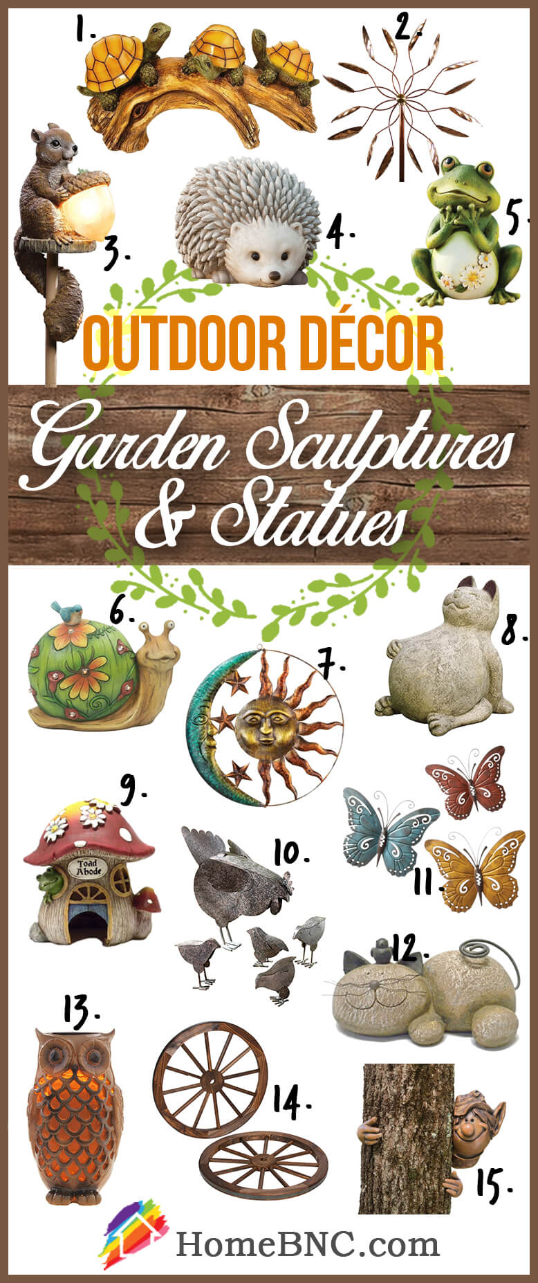 Sculptures and Statues Outdoor Decoration Ideas