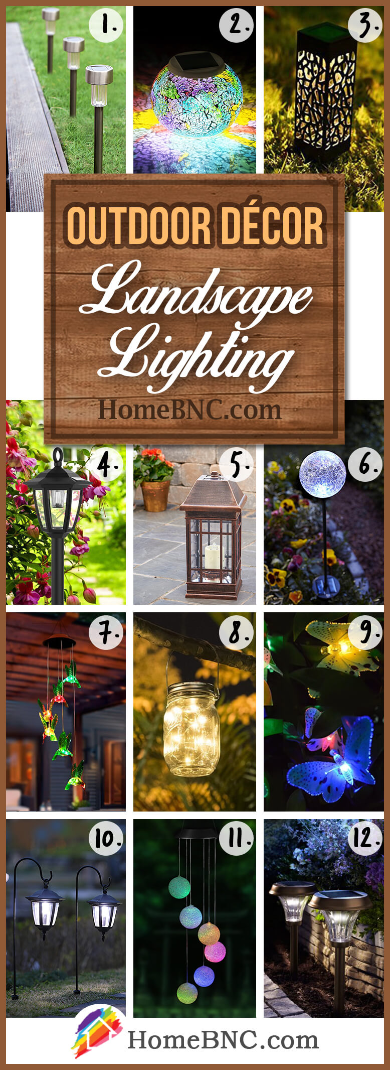 Landscape Lighting Outdoor Decoration Ideas