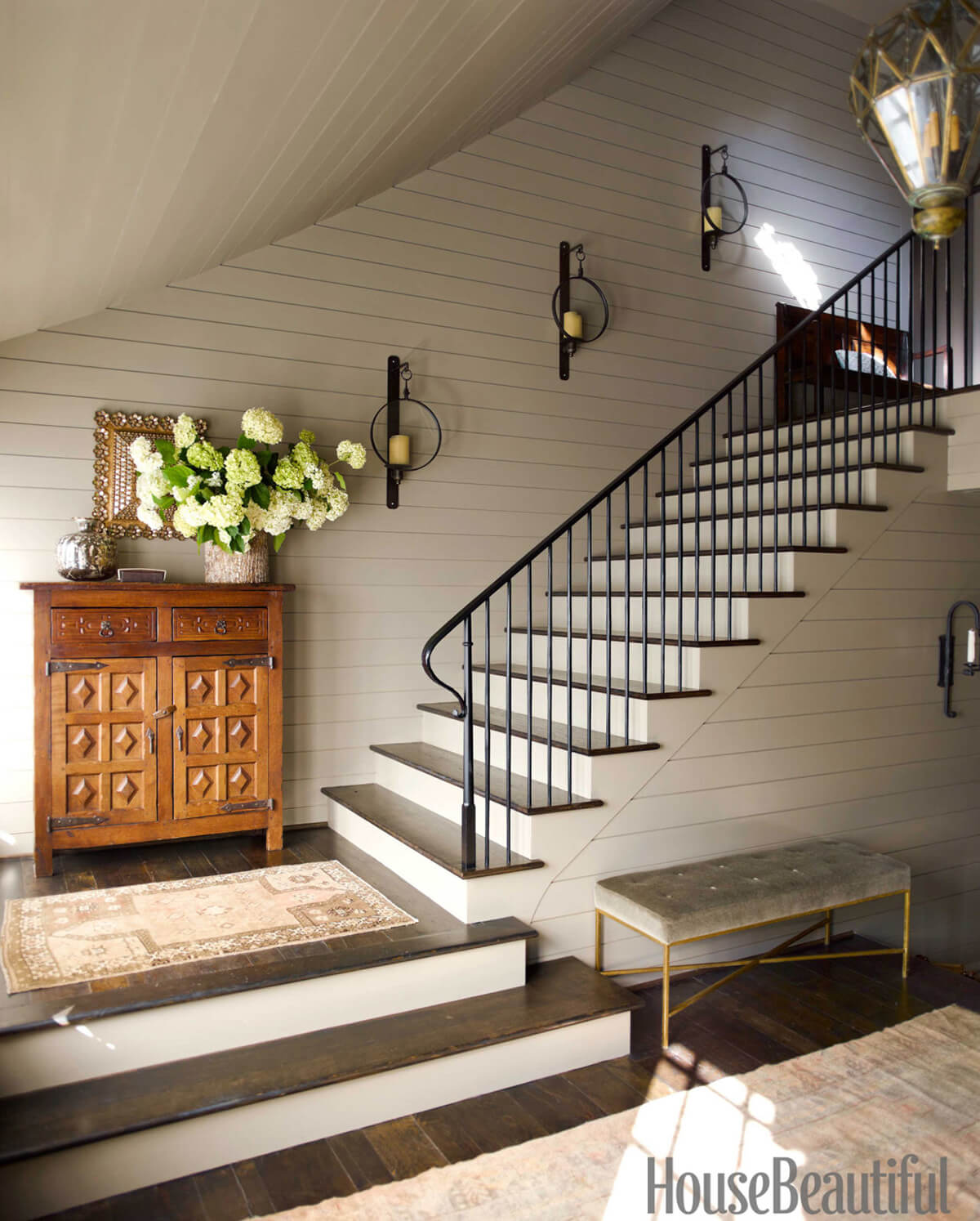28 Best Stairway Decorating Ideas and Designs for 2020
