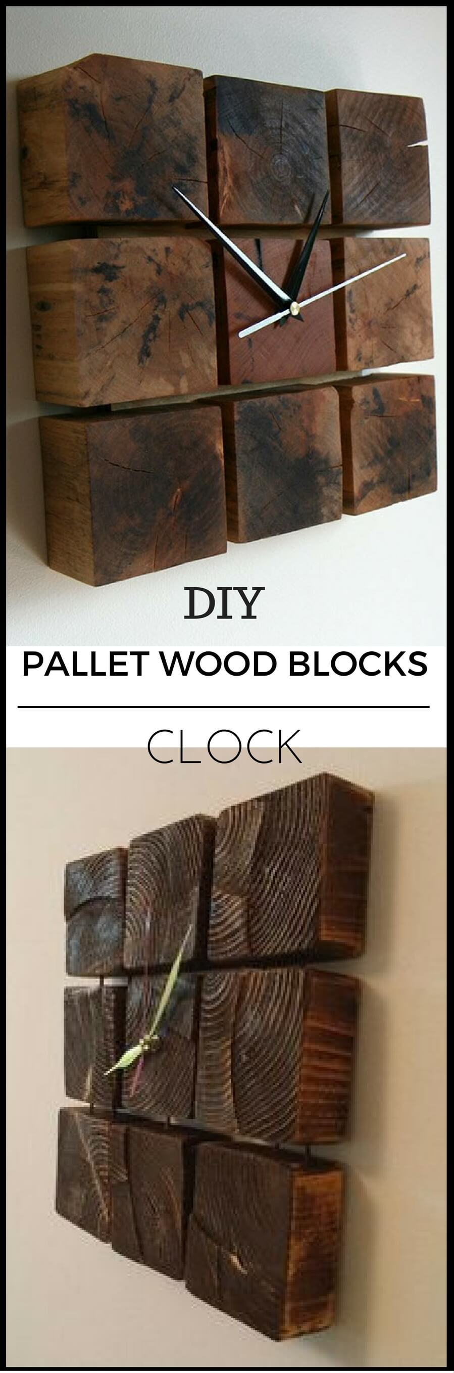 DIY Industrial Wall Clock Concept