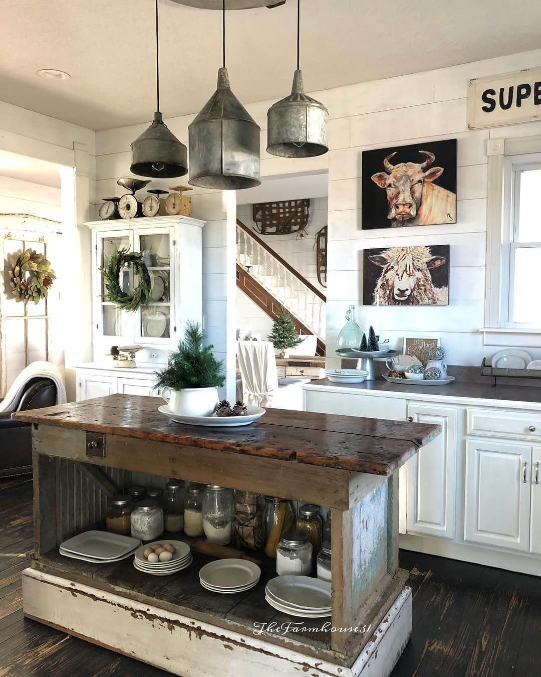 Kitchen Dining Lighting Ideas: 36 Best Farmhouse Lighting Ideas And Designs For 2019