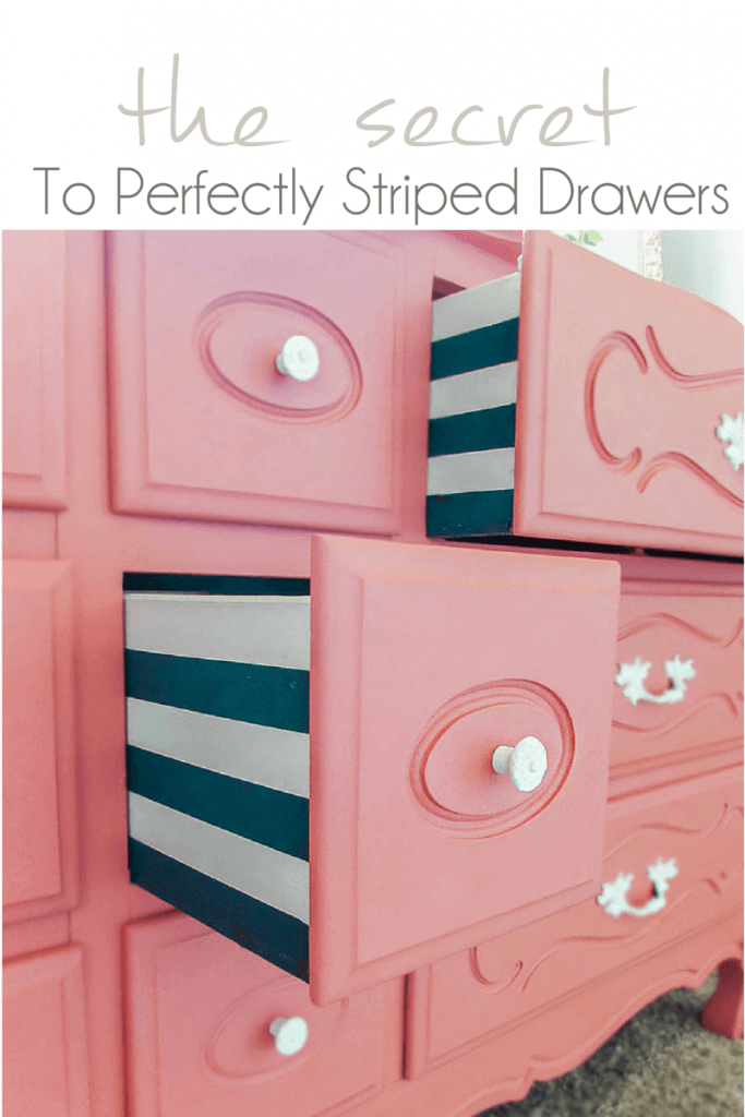 Surprise Them with Striped Drawers