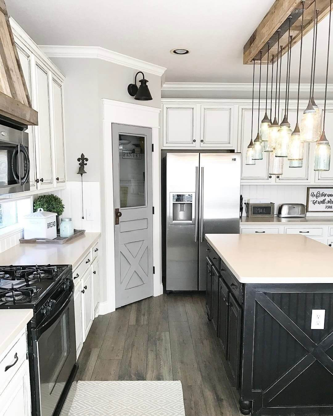 35 Best Farmhouse Interior Ideas And Designs For 2019 - Interior-designed-kitchens