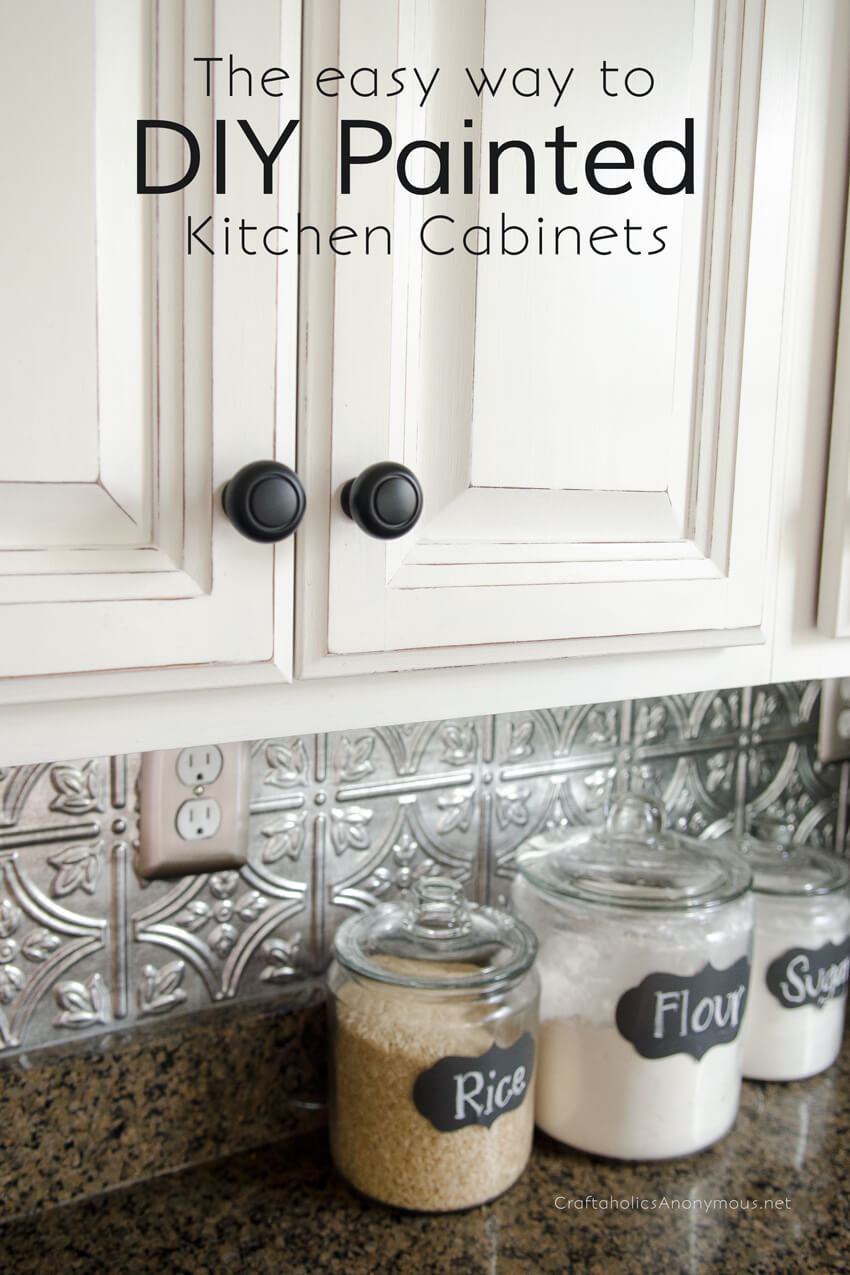 Repaint Your Cabinets for Half the Price