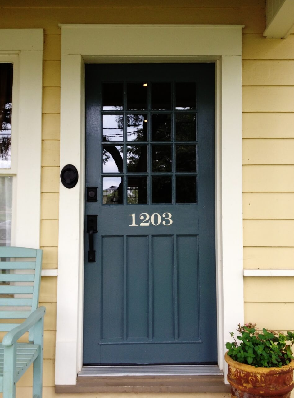 Sailor Blue Front Door Idea