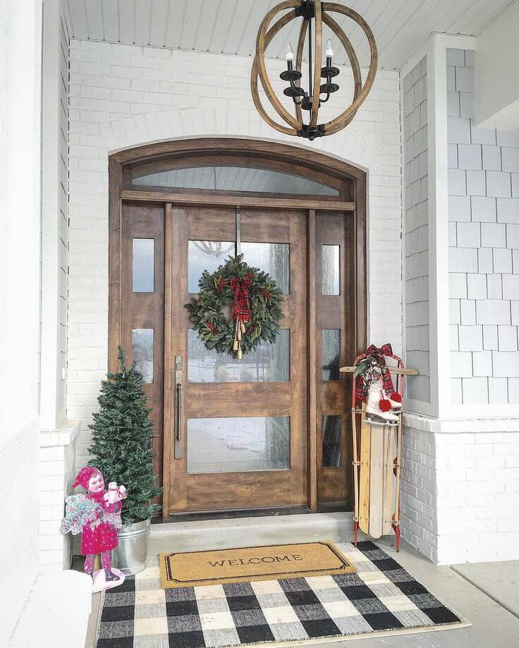 20 Front Door Ideas: 37 Best Farmhouse Front Door Ideas And Designs For 2019