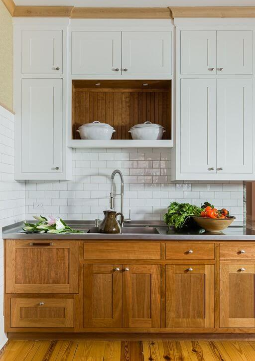 35 Best Farmhouse Kitchen Cabinet Ideas and Designs for 2019 Kitchen Dark Cabinets Below White Above on white kitchen crown molding, white kitchen gray, white cabinets design, walnut kitchen cabinets, white kitchen granite, white kitchen wall color, white kitchen tile, black kitchen cabinets, white kitchen travertine floors, white kitchen white, white kitchen modern, white kitchen wood flooring, white kitchen breakfast nook, white kitchen vaulted ceilings, oak kitchen cabinets, country kitchens with white cabinets, white kitchen double oven, hardwood floors dark cabinets, green dark cabinets, white kitchen backsplash,