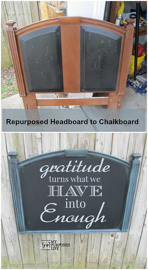 Chalkboard-style Decorative Wall Hanging
