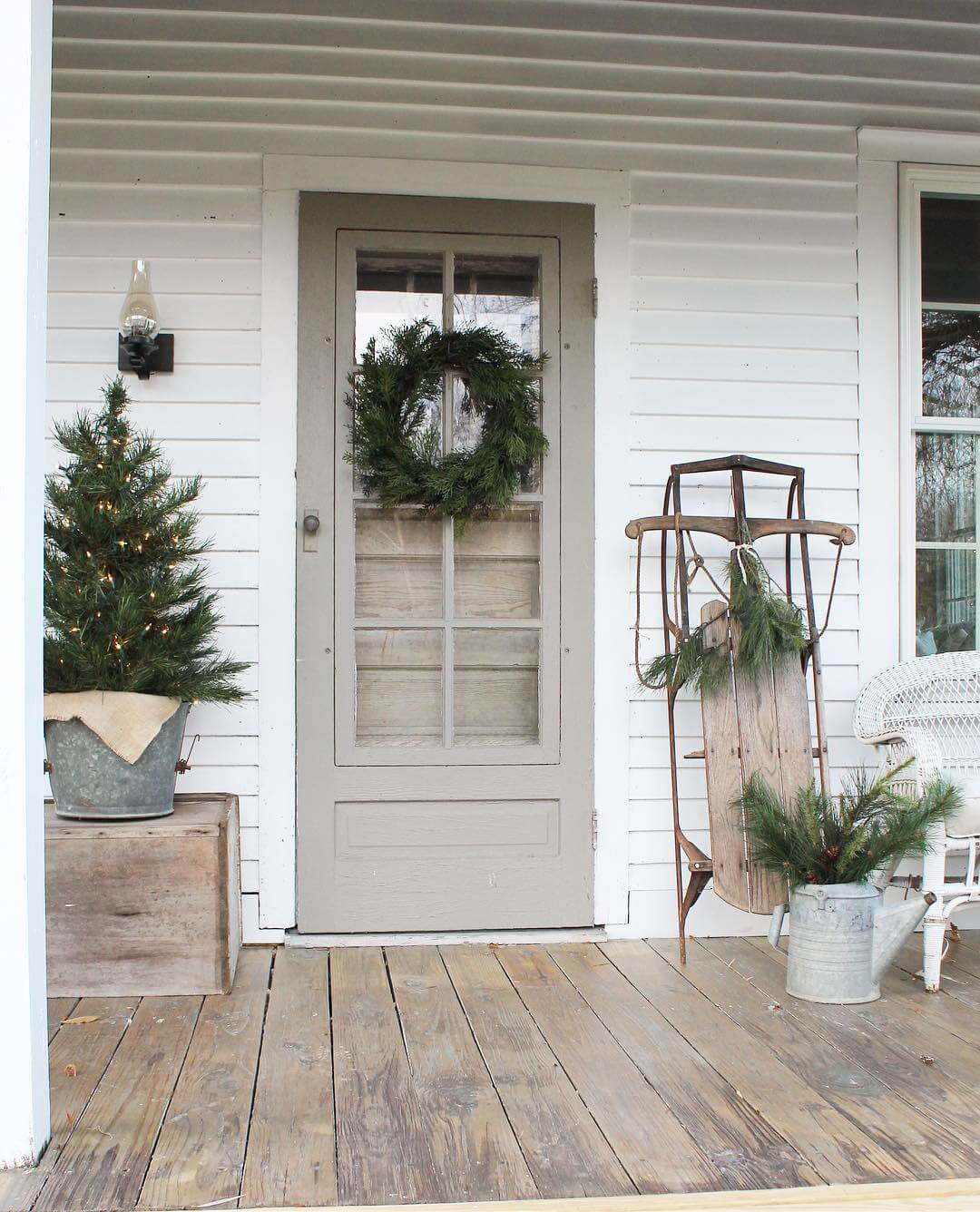 Cookies And Cream Farmhouse Front Door Ideas : farmhouse door - pezcame.com