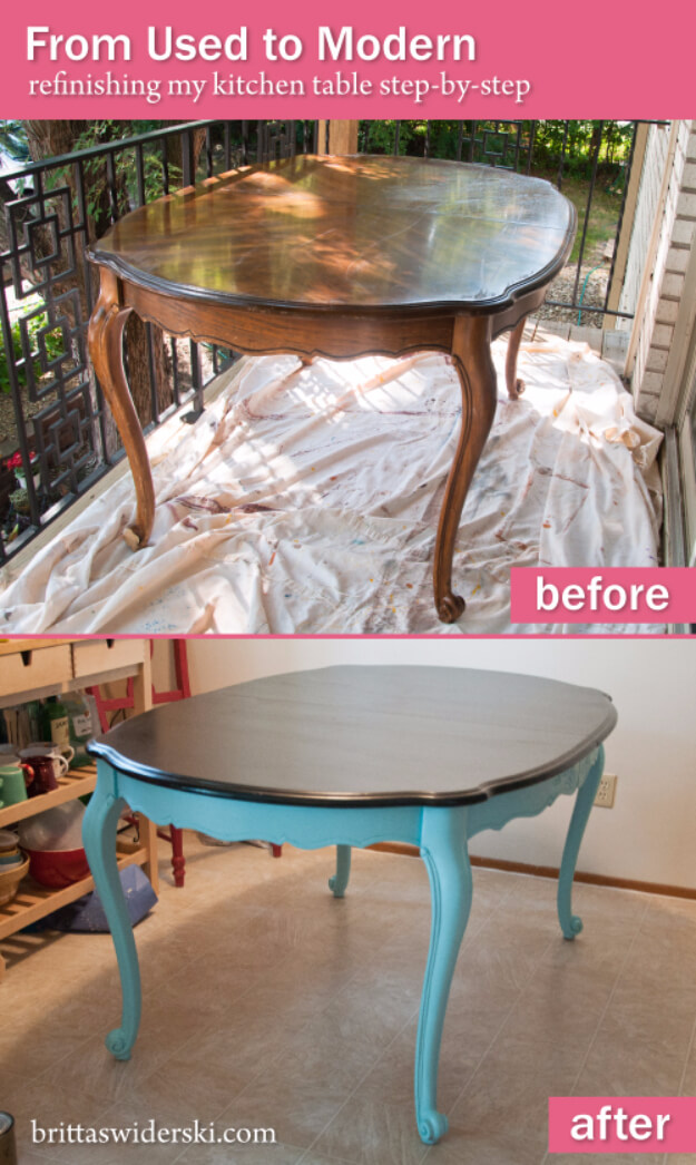 Mod Style Furniture Painting Idea