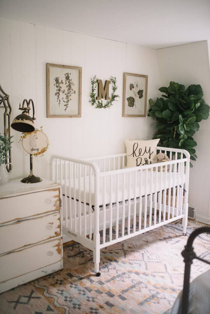A Farmhouse Nursery? Why Not!