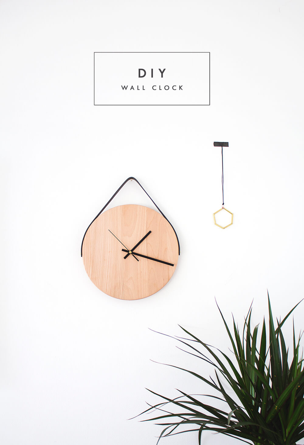Wooden DIY Wall Clock Ideas