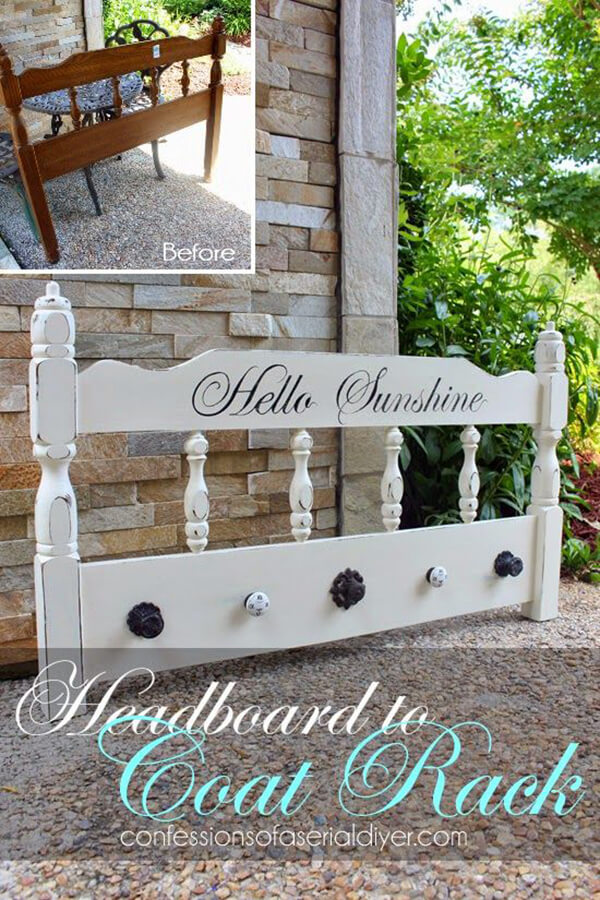 Easy Coat Rack With Quaint Knobs