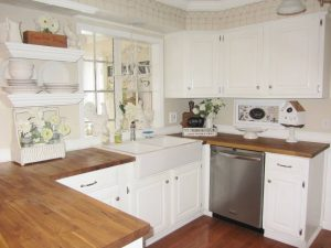 Clic White With Silver Hardware Cabinets