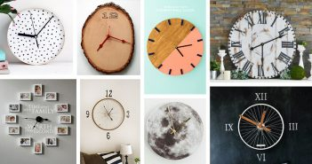 DIY Wall Clock Designs