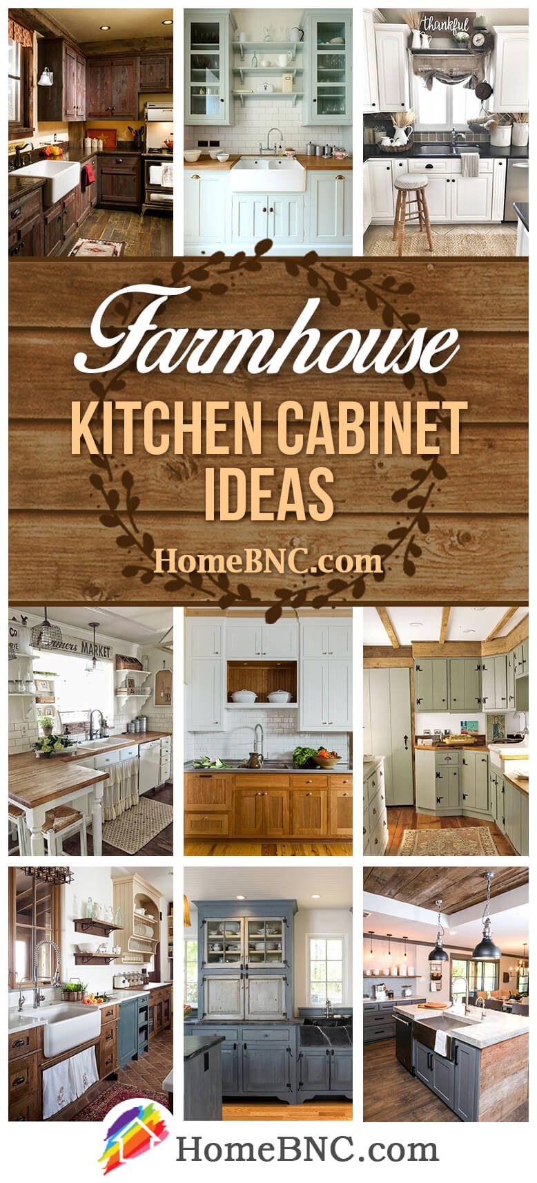 35 Great Farmhouse Kitchen Cabinets To Give Your Home Those French Country  Vibes