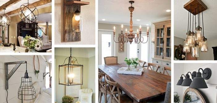 36 Best Farmhouse Lighting Ideas And