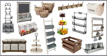 Farmhouse Storage and Organization Ideas