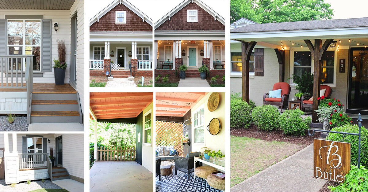 25 Best Porch Makeover Ideas And Projects For 2021