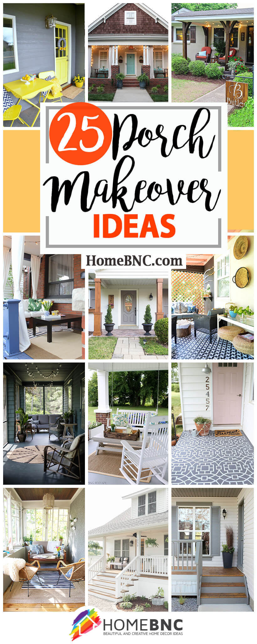 Porch Makeover Ideas