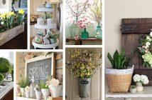 Rustic Farmhouse Spring Decor Ideas