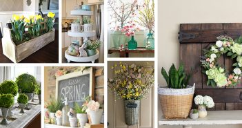 35+ Rustic Farmhouse Spring Decor Ideas To Add A Unique Touch To Your Home  This Season