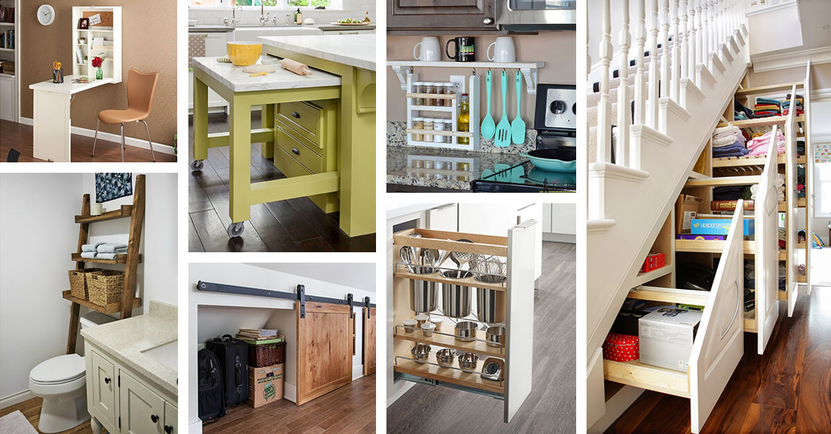 40 best space saving ideas and projects for 2019 rh homebnc com ideas for saving space ideas for saving space in a kitchen