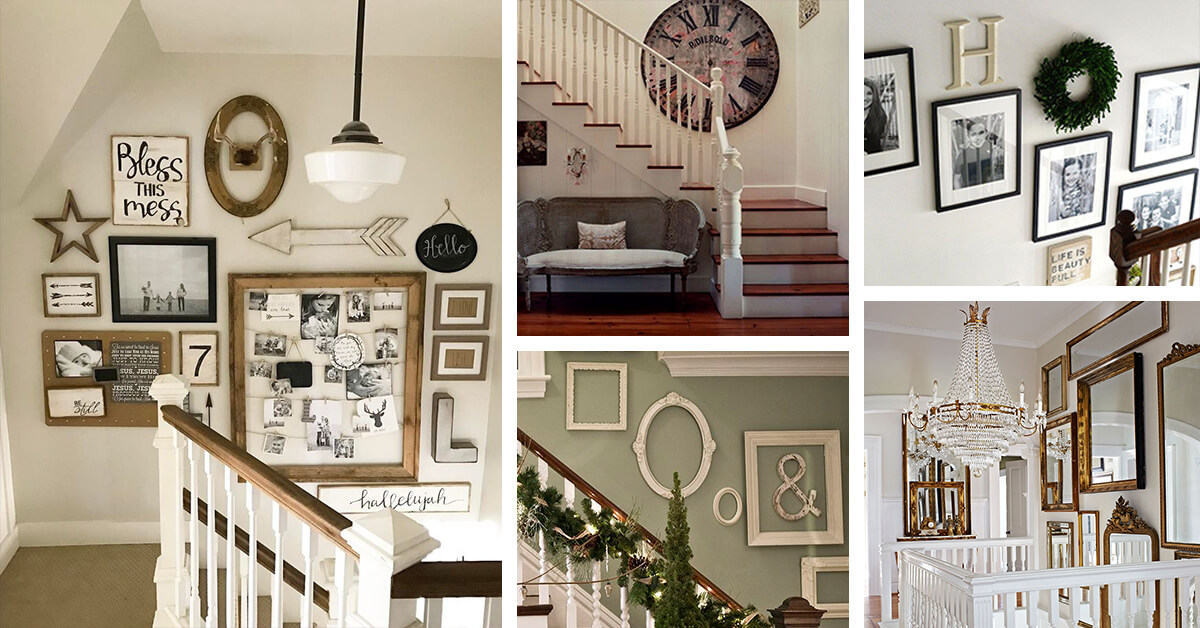 28 Best Stairway Decorating Ideas And Designs For 2018
