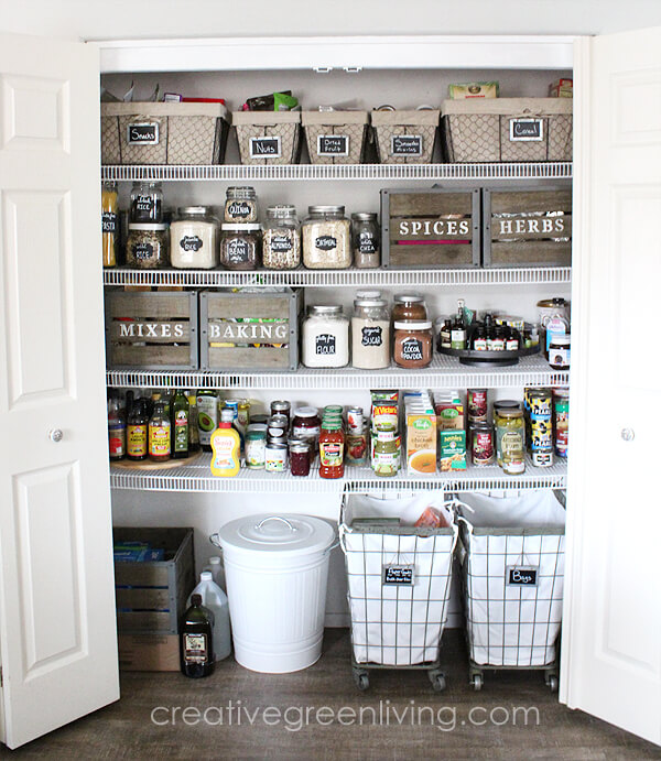 Kitchen Storage And Organization: 29 Best Pantry Organization Ideas And Designs For 2019